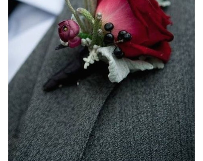 Custom preserved boutonniere