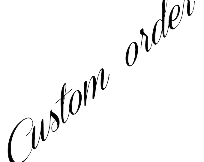 Custom order for Louise - fall wedding flowers set - final payment