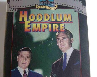 1951 HOODLUM EMPIRE Forrest Tucker Claire Trevor Gangster Pal VHS Video Black and White Rare