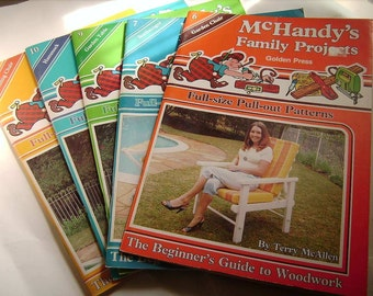 McHANDY'S FAMILY PROJECTS Beginner's Guide To Woodwork x 5 Issues