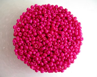 50g Verre Seed Perles-Jaune Transparent Lustered-env 2 mm Taille 11//0