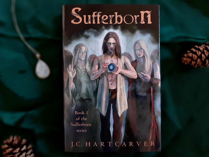 Sufferborn by J.C. Hartcarver Official AUTOGRAPHED Hardback image 0