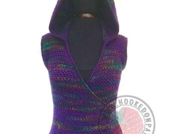 2ff11815fb Floral Lace Cardigan Flory Crochet PDF Pattern Sizes S