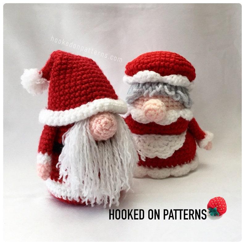 87a50085bb Mr and Mrs Gonk Bundle Set Santa Gonk plus Christmas Eve