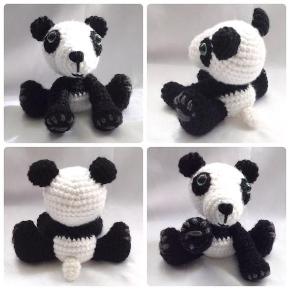 Black Bear amigurumi crochet pattern | Crochet patterns, Crochet ... | 570x570