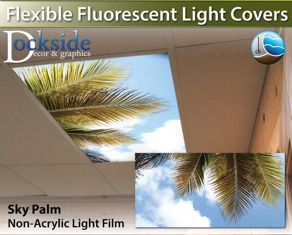 Flexible Fluorescent Light Cover Films Skylight Ceiling Office Medical Dental 12