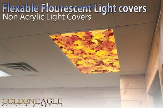 Gentil Flexible Fluorescent Light Cover Films Skylight Ceiling Office | Etsy