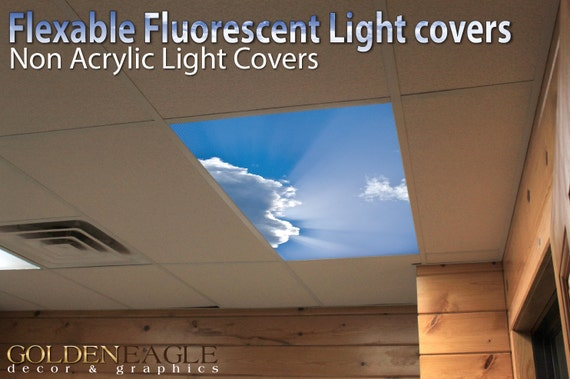 Delicieux Flexible Fluorescent Light Cover Films Skylight Ceiling Office | Etsy