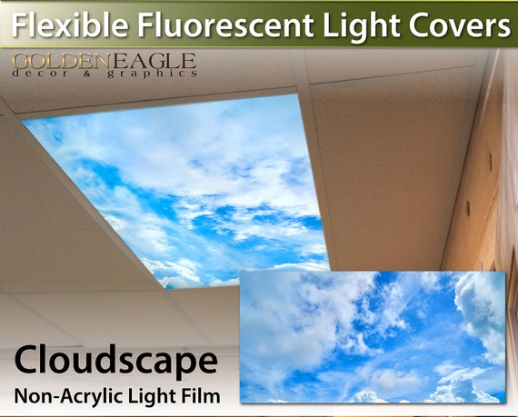Flexible Fluorescent Light Cover Films Skylight Ceiling Office | Etsy