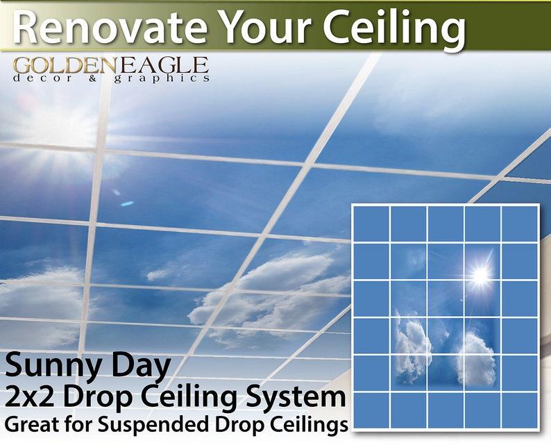 Flexible Fluorescent Light Cover Films Skylight Ceiling Office Medical Dental 44