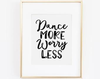 Dance quote | Etsy