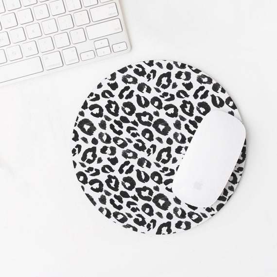 Leopard Print Mouse Pad Animal Print Leopard Print Desk Accessories Mouse Pad Cute Mouse Pad Cute Office Decor Office Desk Decor