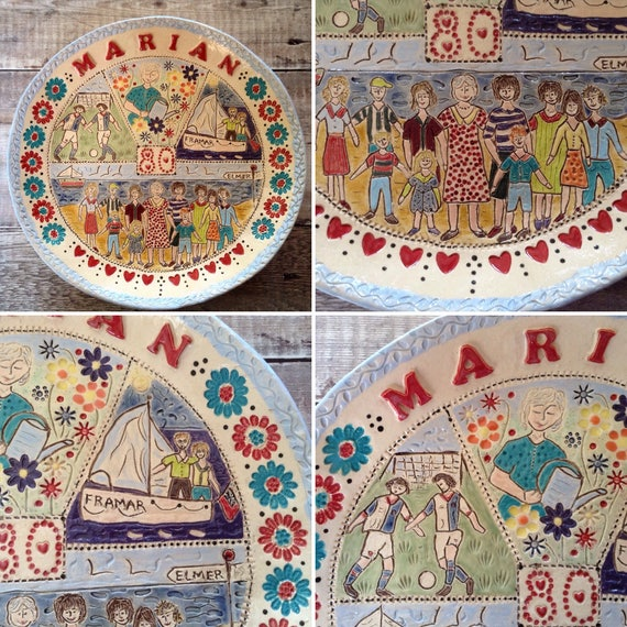 TO ORDER Handmade Personalised Ceramic Bowls