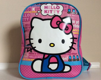 A Hello Kitty mini pre-schoolers toddlers backpack. 551d615b2df64