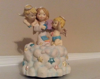 "Cute! Three Angels ""Star Makers"" Little Wings #3860."