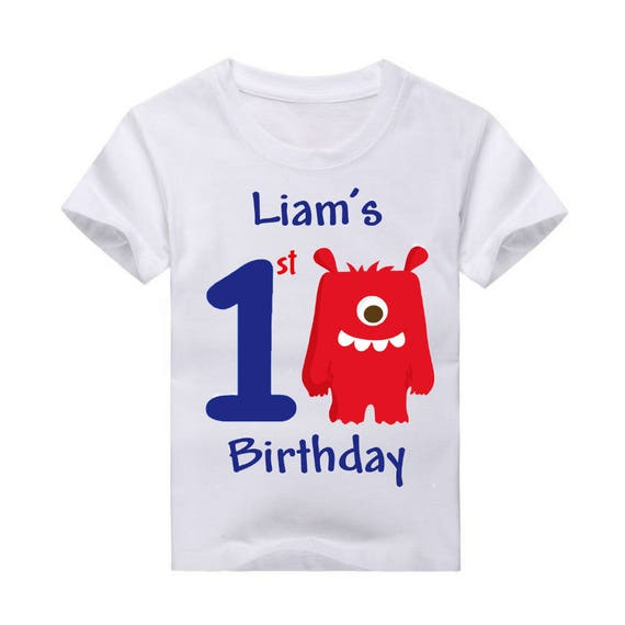 Monster Boys Birthday Shirt 2nd 3rd