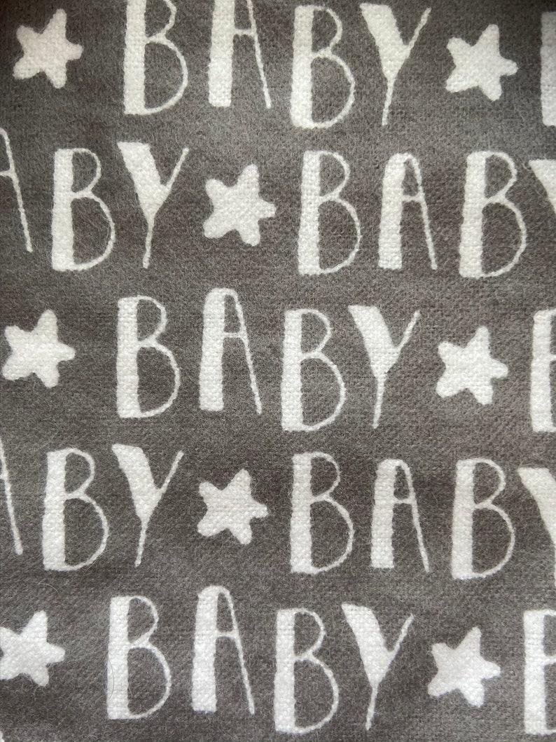 Neutral Bib Set Baby Bib Burp Cloth Bandana Bib