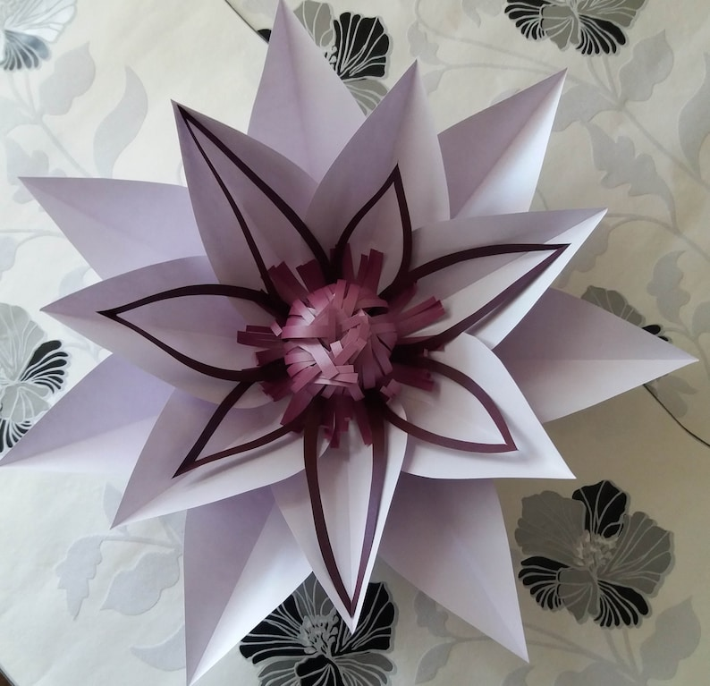 Giant Paper Flowers Decoration White Table And Chair Decorations Wedding Decorations Birthday Paper Flower Paper Flower Wall