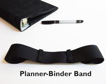 Planner Pen Holder SOLID COLORS Bullet Journal Accessories, Book Band for Moleskine Journal Band, Moleskine Planner Band, Planner Pen Loop