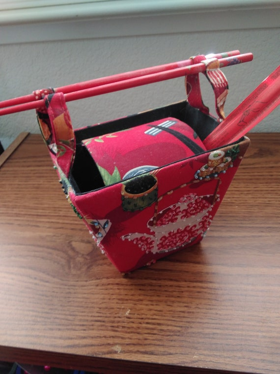 Vintage Red Chinese Purse/Red Chinese Box Purse/Re