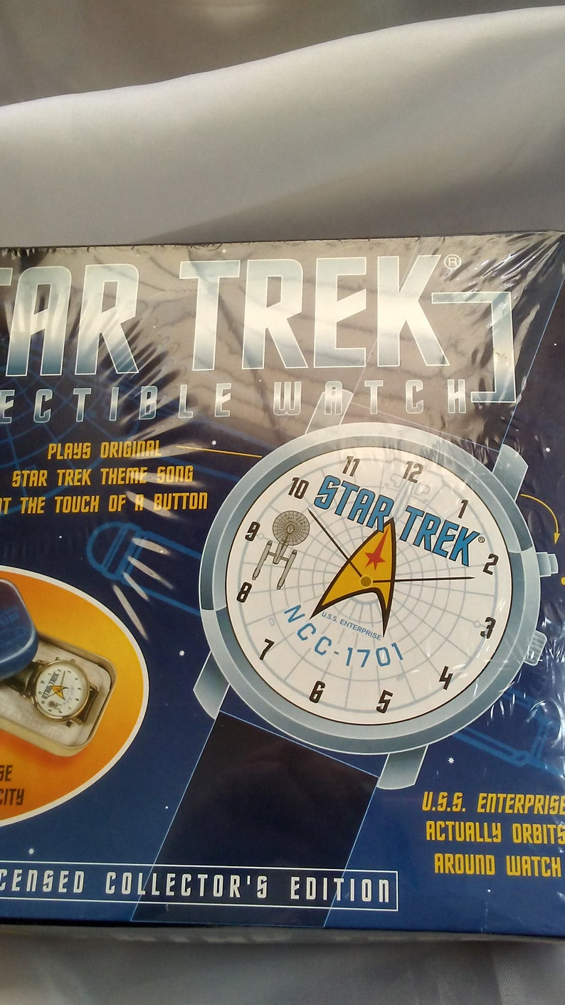 Star Trek Collectible Watch/New in Box Collectible Star Trek image 0