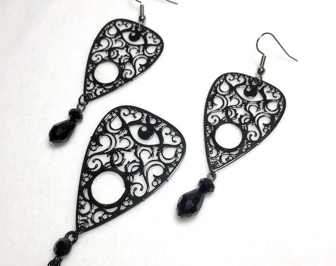 Metal Filigree Jewelery ouija style