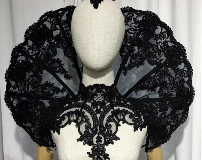 Elizabethan gothic Collar round shape standing alone