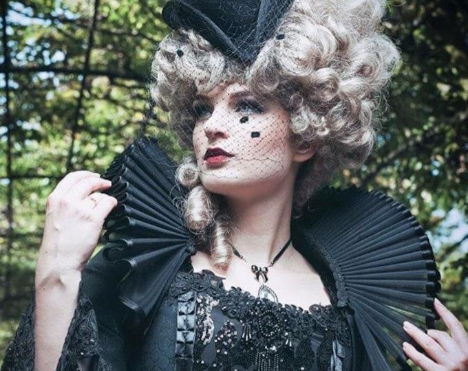 Elizabethan gothic Ruff for shoulders
