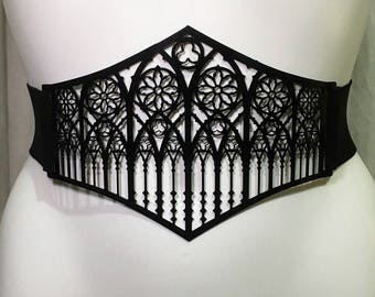 Waist belt Metal Filigree classic cathedral