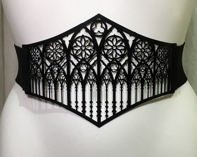 Waist belt Metal Filigree classic cathedral