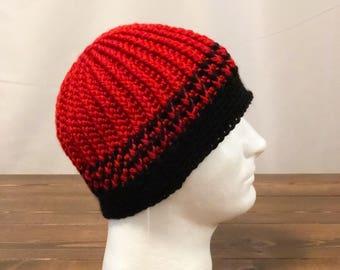 a74e5a598b7 Falcons knit hat