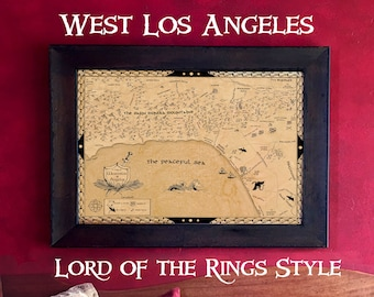 West Los Angeles in Lord of the Rings Style