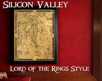 Silicon Valley in Lord of the Rings Style - Silidor Valley