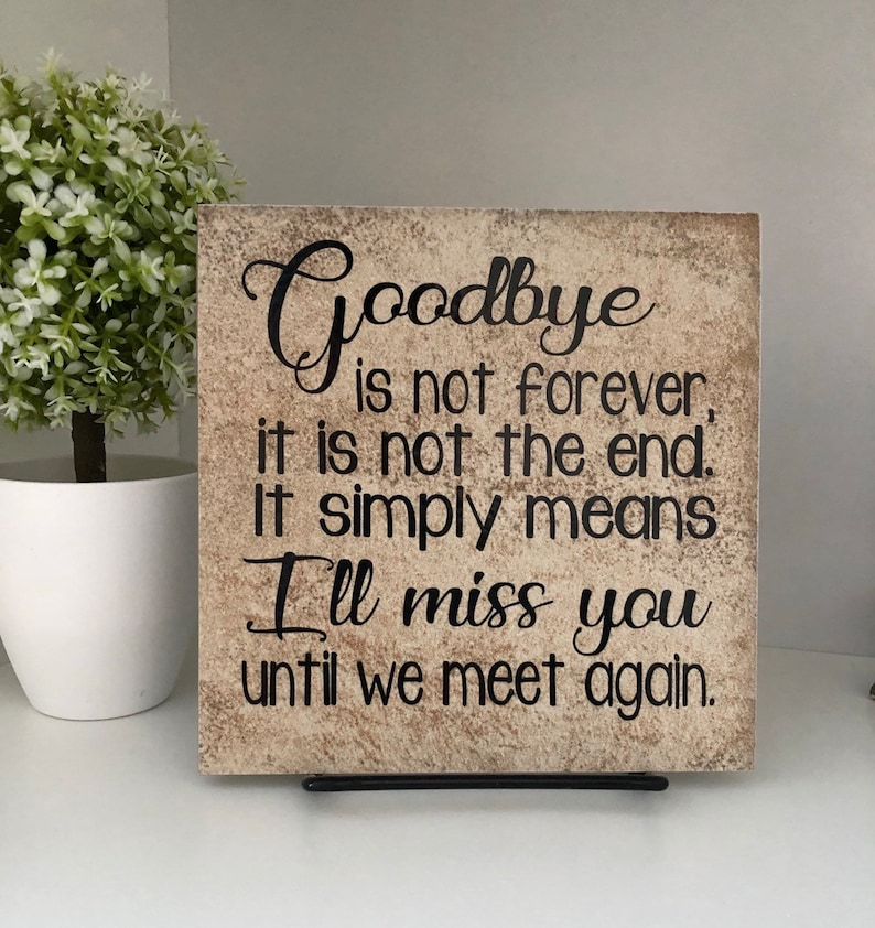 In Loving Memory Memorial Vinyl Decal Wall Decor Sticker Lettering Words Quote