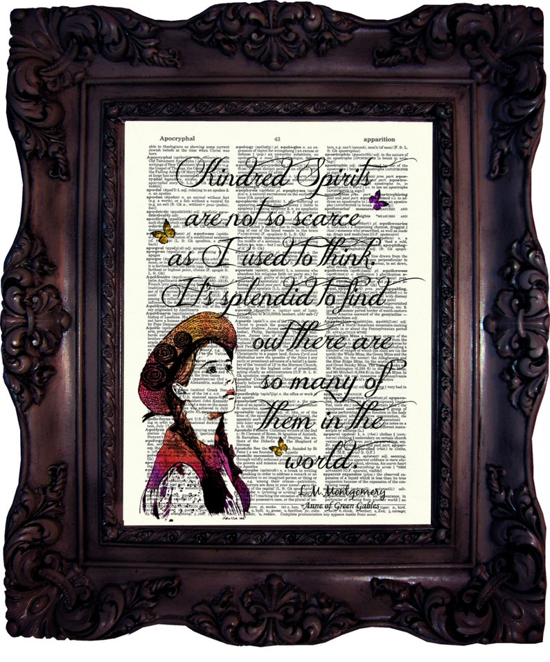 Anne Of Green Gables Quote Best Friend Gift Shirley