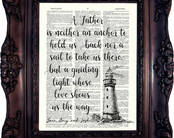 Dad Gift Fathers Day Gift Dad Print Personalized Dad Gift Fathers day gift from Daughter Gift Father gift Dad Son gift Daddy Gift C:867