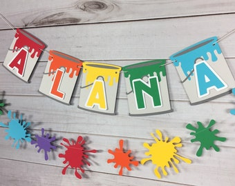 Art Party Banner - Art Banner Art Party Decorations Art Baby Shower Decorations Paint Party Art Birthday Decorations Baby Sprinkle