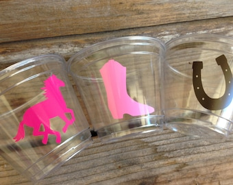 9oz Cowgirl Party Cups