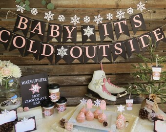 Baby Its Cold Outside Baby Shower Etsy