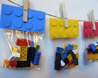 Building Block Gift Bags