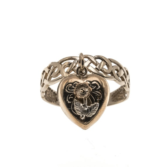 Celt's Charm - Victorian 15K 'Celtic Heart Charm'