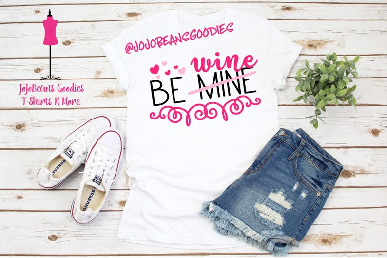 331a79139 Be Wine Shirt Be Mine Shirt Valentines Day Shirt Funny | Etsy