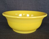 Fiesta Ware Yellow Serving Bowl, Fiesta Yellow Vegetable Serving Bowl, 9 1 4 in. Yellow Fiestaware Serving Bowl