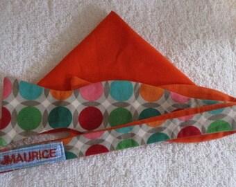 Illusion Circles Bow Tie and Pocket Square Set