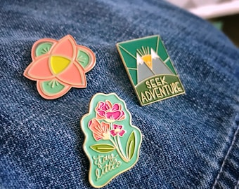 Catholic Enamel Pins * Christian Enamel Pins * Inspirational Enamel Pins * Enamel Pins for Kids