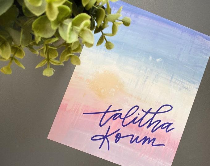 Talitha Koum Print