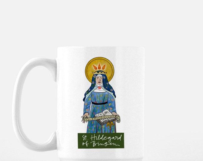 Catholic Coffee Mug * Christian Coffee Mug * Hildegard Mug * Inspirational Mug * Shipwrecked Mug