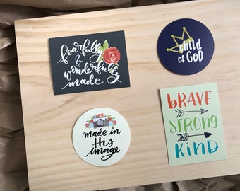 Inspirational Mirror Clings