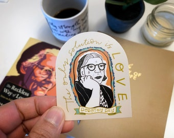 Dorothy Day Sticker