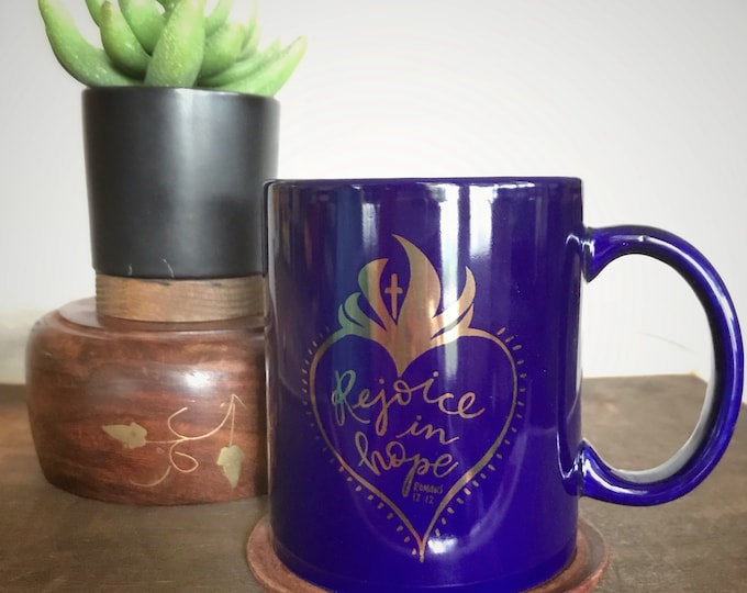 Ceramic Coffee Mug * Catholic Christian Coffee Mug * Sacred Heart Mug * Drinkware * Gifts for Her *